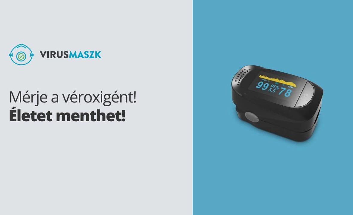 Egy okos kis eszköz: a pulzoximéter