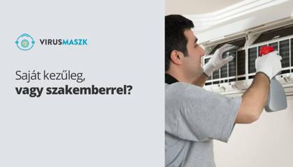 Klíma tisztítás: házilag vagy szakemberrel?