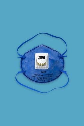 3M 9926 pormaszk FFP2 - 10 db - Kék