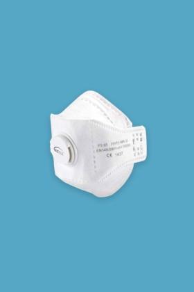 Portwest FFP3 szelepes maszk - Arcmaszk - 10 db - Fehér
