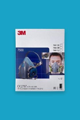 3M 7501-7503 félálarc - Félálarc - 1 db - M