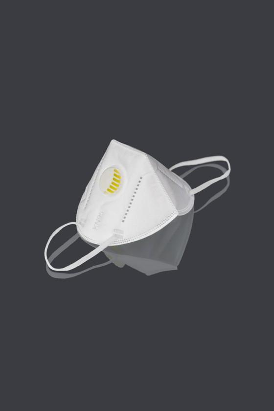 Legal Beauty KN95/FFP2 7 rétegű maszk - szelepes - fehér - 10 db - Arcmaszk - 10 db - Fehér