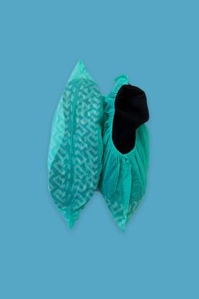 Csúszásgátlós cipővédő - Cipővédő - 100 db - Zöld