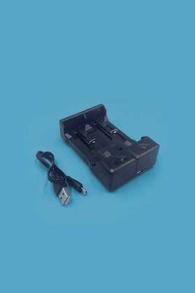 Akkumulátor töltő 18650-es Li-ion akkumulátorhoz - Akkumulátor töltő - 2 db