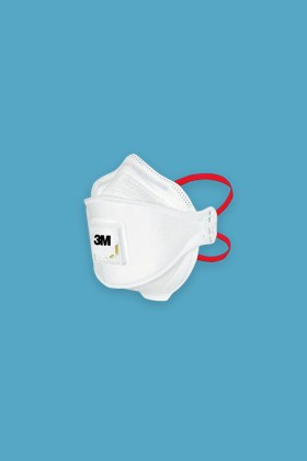 3M Aura 1873+ FFP3 Type IIR szelepes orvosi arcmaszk - 5 db - Fehér