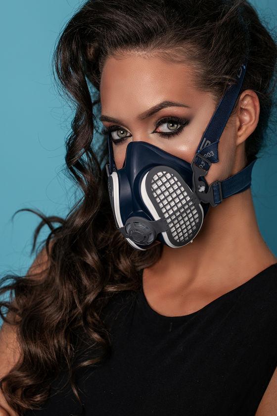 ELIPSE félálarc P3 szűrőbetétekkel + kellemetlen szagok elleni védelem - 1 db