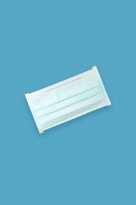 Saniaid EN14683 orvosi arcmaszk - Saniaid maszk - 50 db - 3 rétegű - Felnőtt