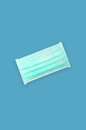 Saniaid EN14683 orvosi arcmaszk - Saniaid maszk - 50 db - 4 rétegű - Felnőtt