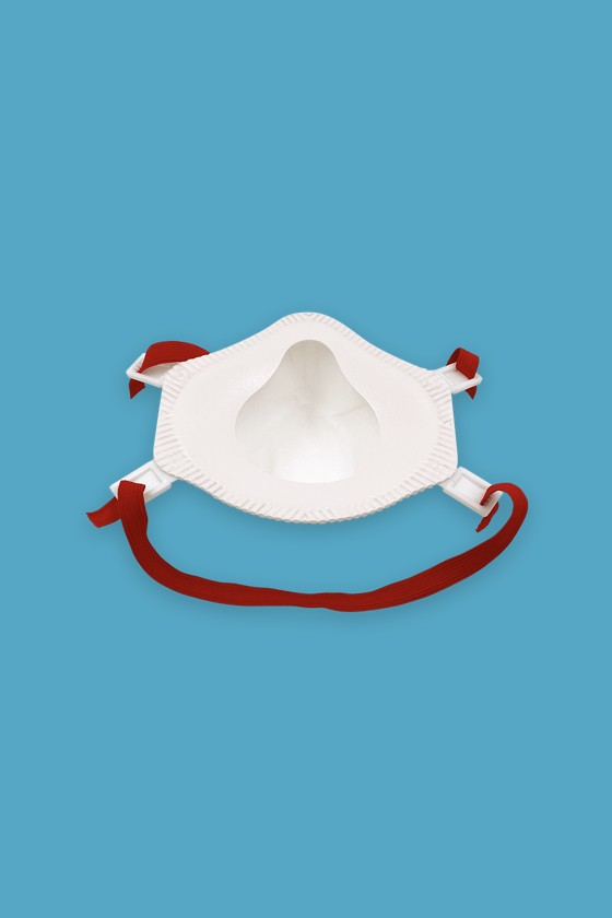 Perfetto FFP3 légzésvédő maszk - fehér - Perfetto Arcmaszk - 5 db - Kemény - Szelep nélküli