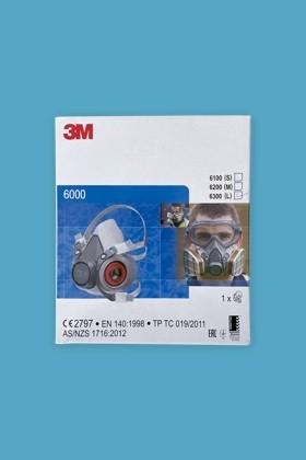 3M 6100-6300 félálarc - Félálarc - 1 db - M