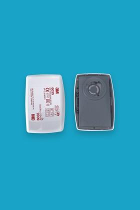 3M 6035 P3 (FFP3) gázszűrőbetét - Szűrőbetét - 1 pár