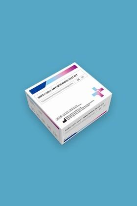 Biohit SARS CoV-2 antigén gyorsteszt - 25 db tesztkészlet (orrból, szájból) - 25 db