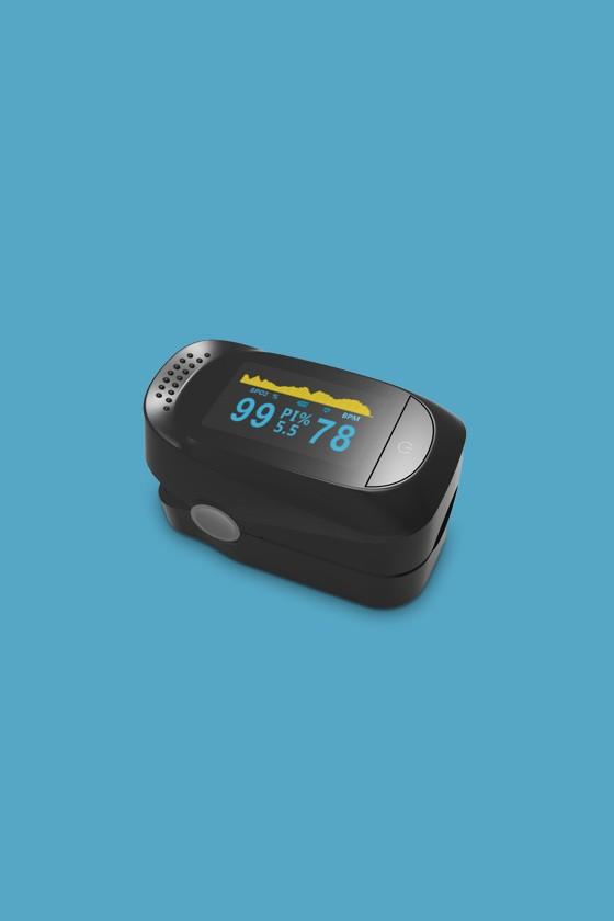IMDK pulzoximéter - Pulzoximéter - Fekete