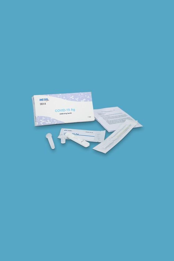 WESAIL SARS-CoV-2 készlet - SARS-CoV-2 teszt - 5 x 1 db - Antigén (Ag)