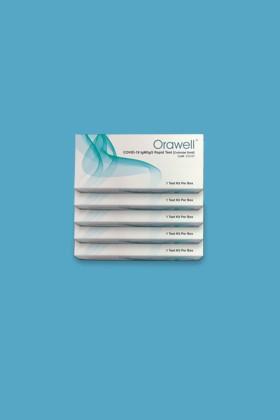 Well Biotech Orawell COVID-19 antitest gyorsteszt - 5 x 1 db tesztkészlet (vérből) - 5 x 1 db