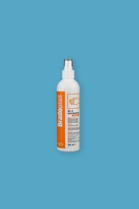 Bradoplus professzionális sebészi kéz- és bőrfertőtlenítő - Kézfertőtlenítő - illatmentes - 10 x 250 ML