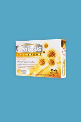 Medistus Antivirus lágypasztilla 10 szemes - Antivírus - Mézes-citromos - 12 doboz