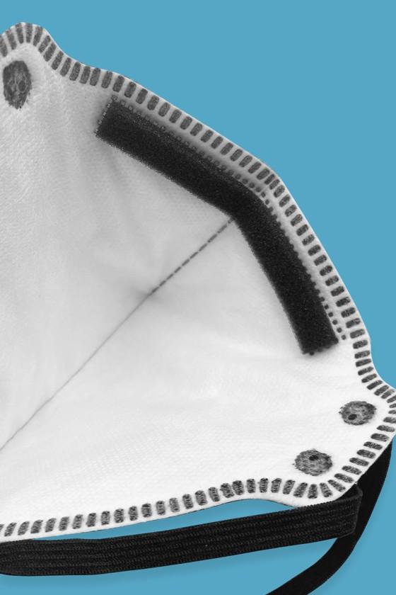 Zmask prémium FFP3 - FFP3 maszk - 5 db - Fekete - Szelep nélküli