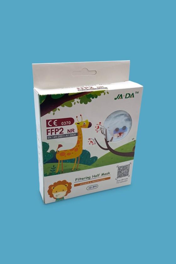FFP2 szelep nélküli 5 rétegű arcmaszk - 5 rétegű arcmaszk - Autós - Gyermek