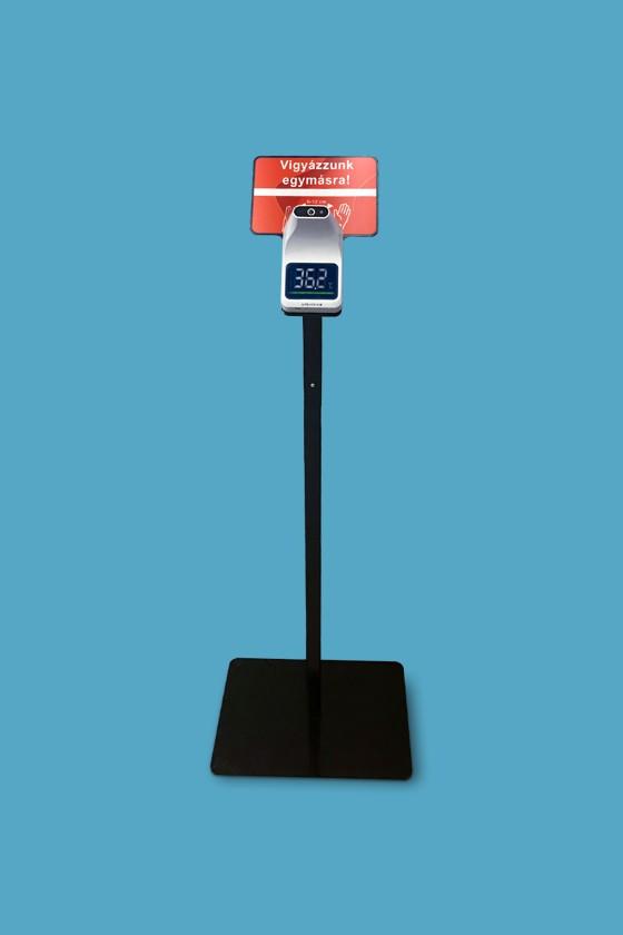 Elysium fali lázmérő - Fali lázmérő - Fekete állvánnyal - 1 db - Fehér