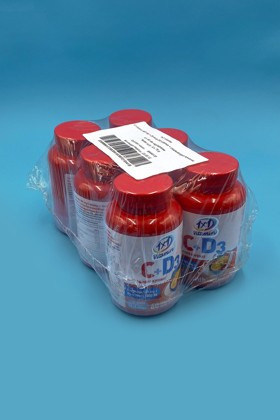 1×1 Vitamin 500 mg C-vitamin + 1000 NE D3 rágótabletta csipkebogyóval - 6 db - 1 csomag