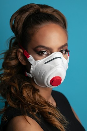 Perfetto FFP3 légzésvédő puha kialakítású maszk - szelepes - 5 db - fehér