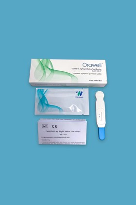 Well Biotech SARS-CoV-2 készlet - SARS-CoV-2 teszt - 5 x 1 db - Antigén (Ag) Nyalókás