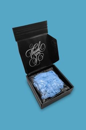 Legal Beauty Nitril CE 2777 kék kesztyű - 20 db - S