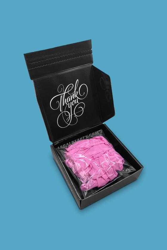 Legal Beauty Nitril kesztyű - Nitril kesztyű - Pink - XS
