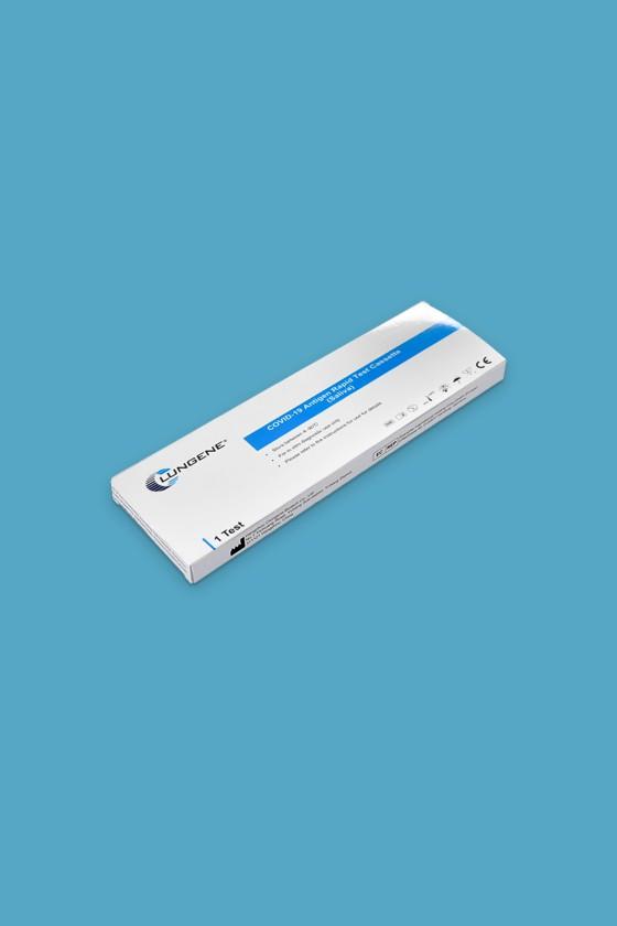 Clungene SARS-CoV-2 készlet - SARS-CoV-2 teszt - 1 db - Antigén (Ag) Nyál