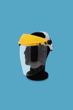 Singer EVA805 arcvédő látómező + homlokvédő - Arcpajzs - 1 db - Sárga