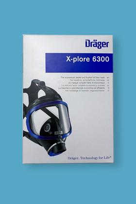 Dräger X-PLORE 6300 teljesálarc (gázálarc) - Teljesálarc - 1 db - OneSize