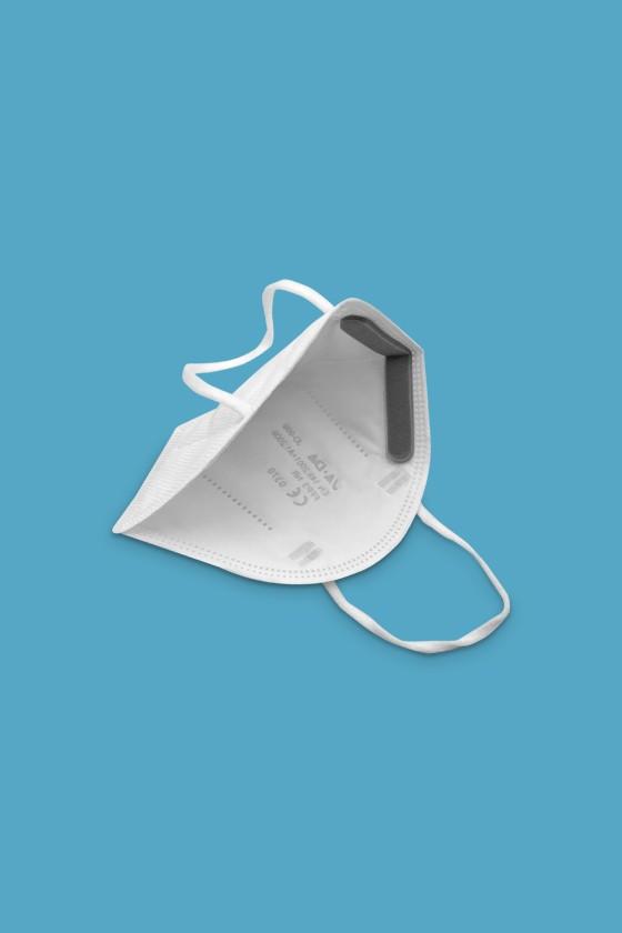 Legal Beauty FFP3 7-rétegű maszk (CE 0370) - FFP3 maszk - 5 db - Fehér - Szelep nélküli