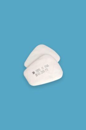 3M 5935 Részecske előszűrő - P3 (FFP3) - Szűrőbetét - 1 pár