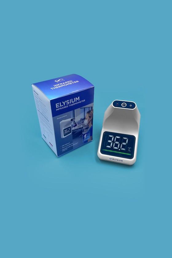 Elysium fali lázmérő - Fali lázmérő - Állvány nélkül - 1 db - Fehér