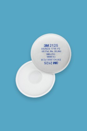 3M 2125 P2 Részecskeszűrő betét - Szűrőbetét - 1 pár