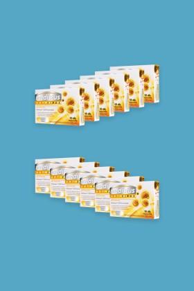 Medistus Antivirus lágypasztilla 10 szemes - Mézes-citromos - 12 doboz - karton