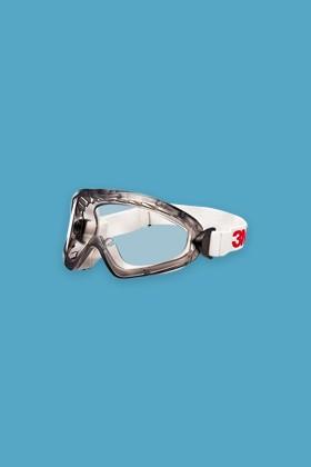 3M 2890S zárt, polikarbonát védőszemüveg - 1 db - Víztiszta
