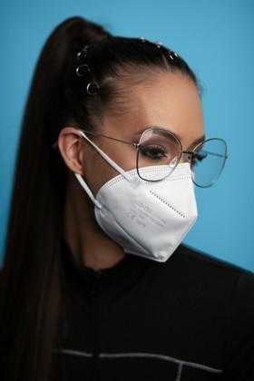 Legal Beauty FFP3 7-rétegű maszk (CE 0370) - Fehér - Szelep nélküli - 5 db