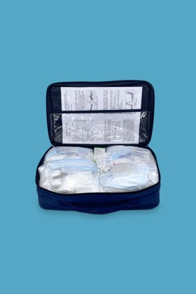Elsősegély felszerelés gépjárművekhez - Elsősegély felszerelés - C (textil táska)