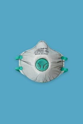 BLS ZER0 31 Olasz FFP3 R D többször használható részecskeszűrő maszk - 10 db - Fehér