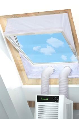 Rhodesy ablakszigetelő függöny mobil klímákhoz - 2 x 230 cm - 1 db