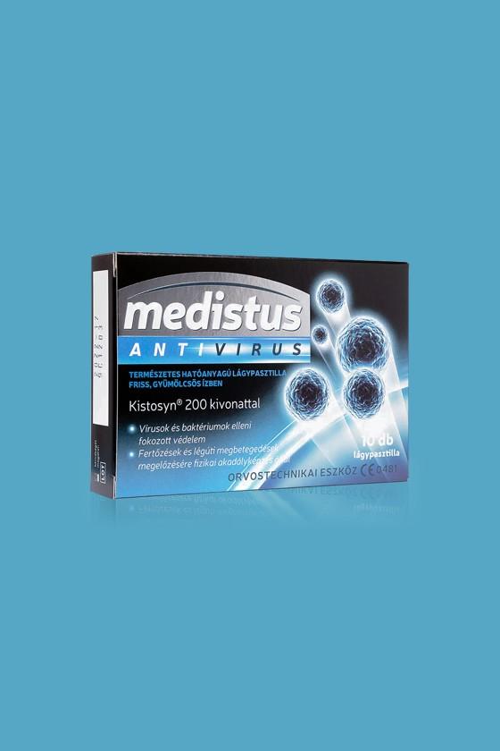 Medistus Antivirus lágypasztilla 10 szemes - Antivírus - Gyümölcsös - 1 doboz