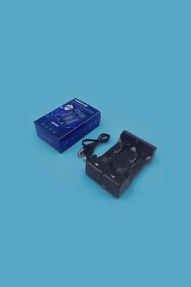 Akkumulátor töltő 18650-es Li-ion akkumulátorhoz - 2 db