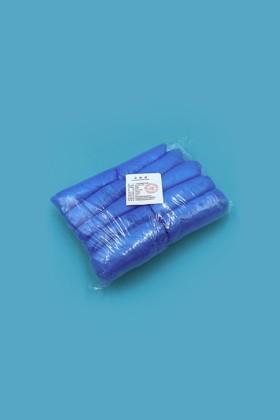 Gumis cipővédő (PE 2,5g) - Cipővédő - 100 db - Kék