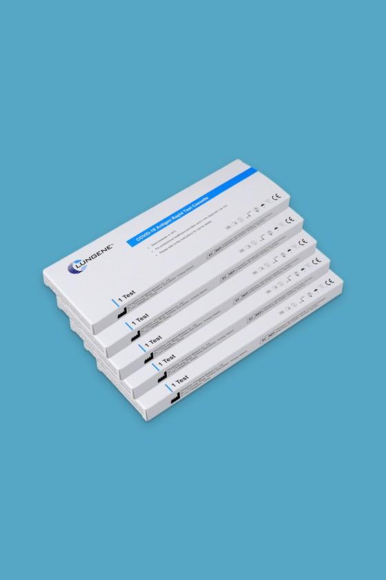 Clungene SARS-CoV-2 készlet - SARS-CoV-2 teszt - 5 db - Antigén (Ag)