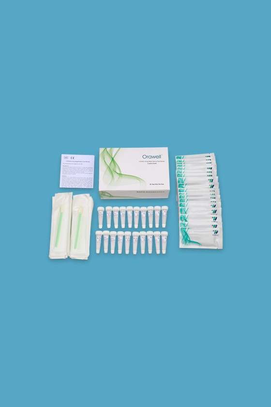 Well Biotech SARS-CoV-2 készlet - SARS-CoV-2 teszt - 20 db - Antigén (Ag) Nyál