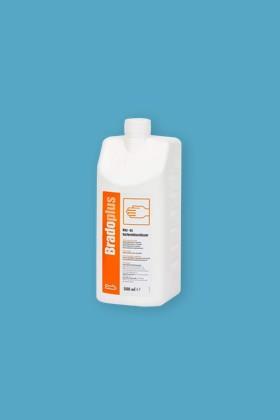 Bradoplus professzionális sebészi kéz- és bőrfertőtlenítő - Kézfertőtlenítő - illatmentes - 10 x 500 ML