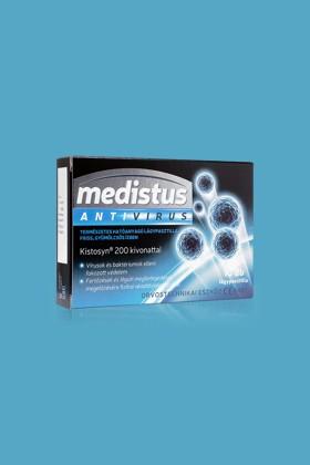 Medistus Antivirus lágypasztilla 10 szemes - Antivírus - Gyümölcsös - 12 doboz