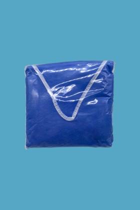 Kék színű zsilipruha 40 gramm - Zsilipruha - XXL